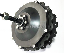 Factory supply hot sale 10T, 12T high torque hub motor