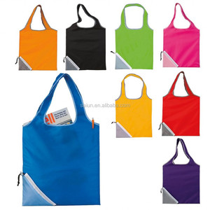 Hot sales popular waterproof polyester nylon foldable bag lightweight