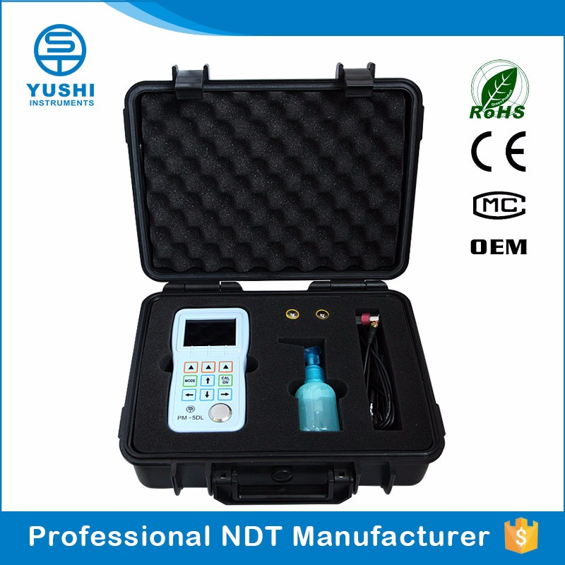 YUSHI Professional Fire Door Ultrasonic <strong>Thickness</strong> Meter Measuring Instruments