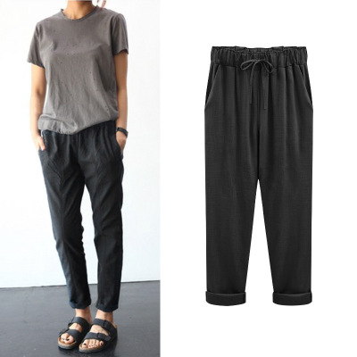 2872112b782a China 100 Linen Pants
