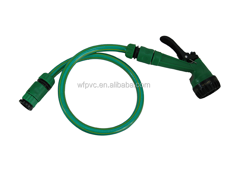 Colorful pvc garden hose pipe fittings h
