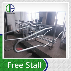 cow cubicles Double Type Free Stall