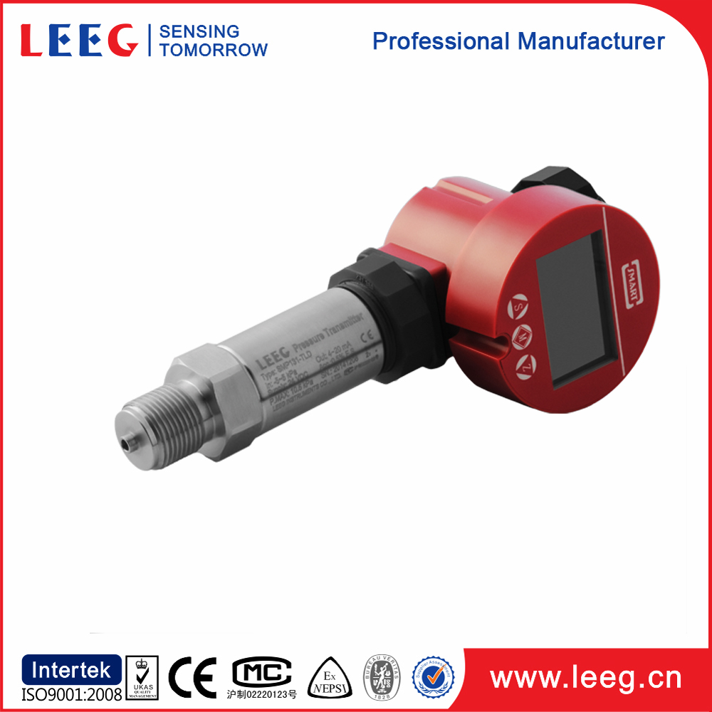 100 psi digital gauge pressure sensor