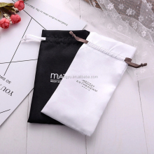 factory wholesale high quality satin wedding favor bags