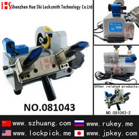 Popular series high quality Auto Key cutting machine (DC12V) for Zhuxin portable single Head Table 081043