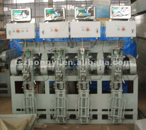 fixed automatic weight 25kg-50kg bag packaging machine with 4 spouts