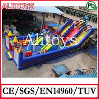 giant inflatable jumping castle, large inflatable playground, inflatable fun city