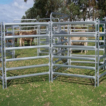 factory price galvanized metal portable horse fence panel