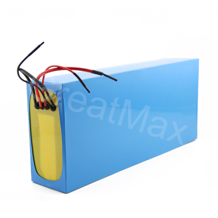 Rechargeable 48v 40Ah lithium battery lipo battery for e-scooter