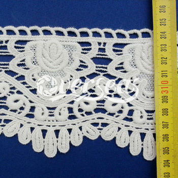 hot and newest design for embroiderey lace for clothing