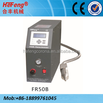 Compressed air Plasma treatment for car lamp and window sealing