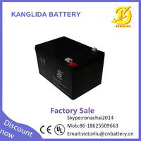 Factory wholesale 6-fm 12v 12ah dry battery for ups cycle price in Pakistan