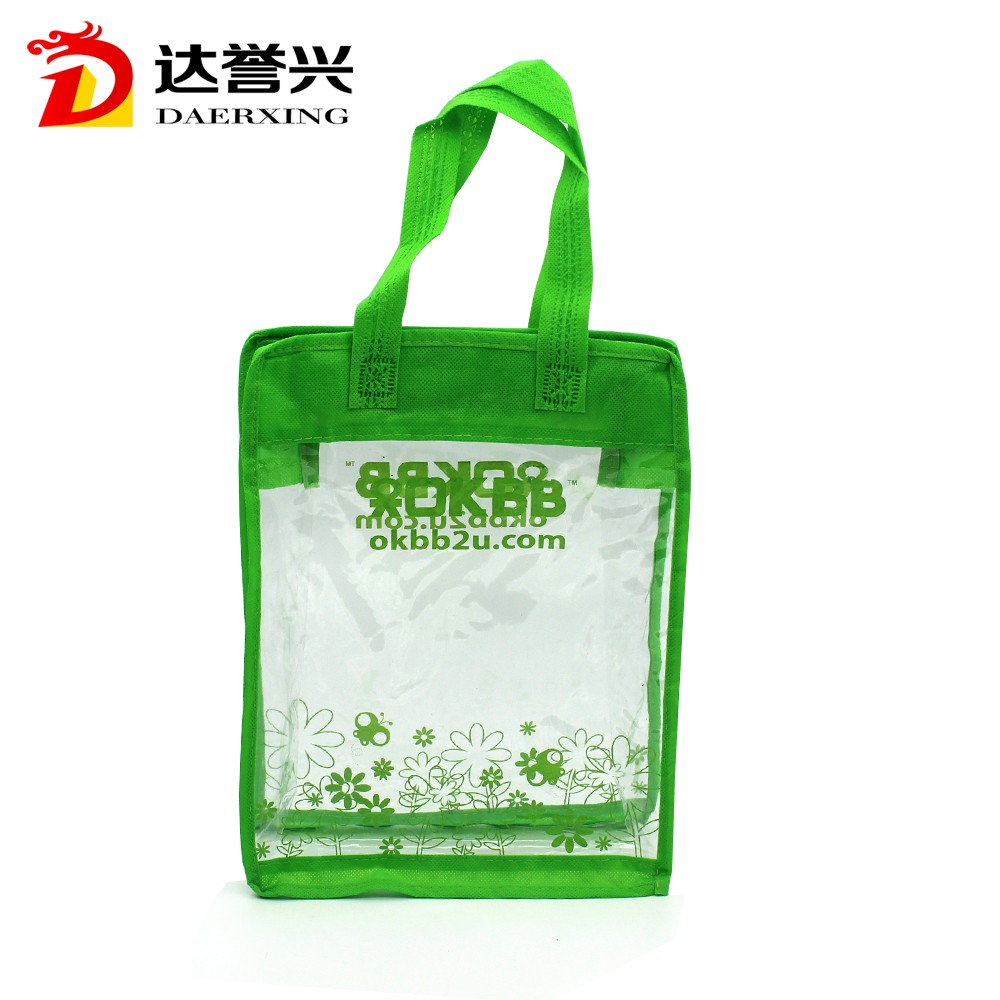 New fashion hot style water proof school bag for kids plastic PVC bag