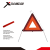 Xracing NMWTD7-01 PMMA+ABS+PVC Original Red Warning Signal Safety Reflective Car Warning Triangle