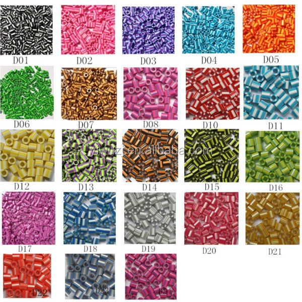 2017 new double color fuse beads Diyfashion Brands high quality