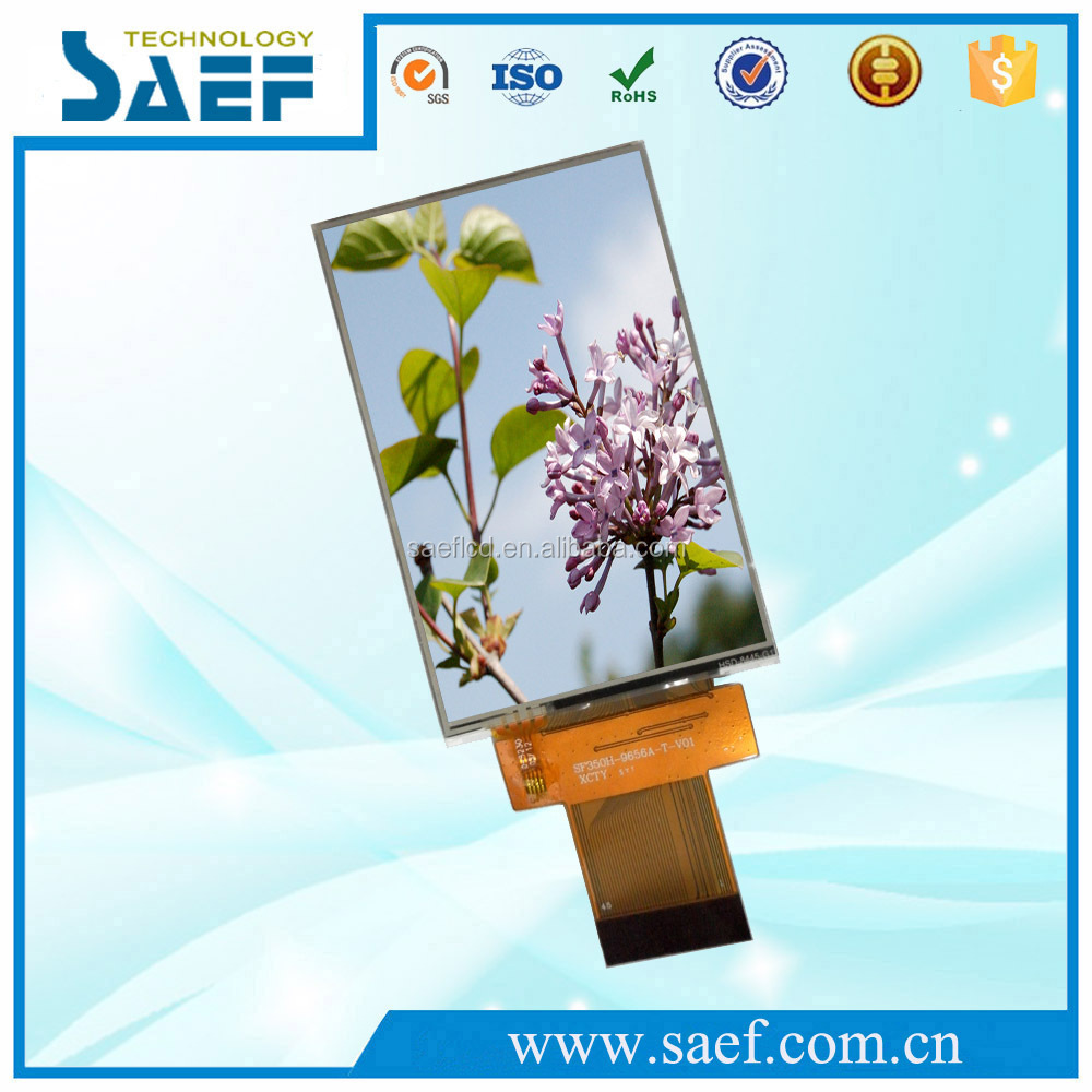 Original 3.5 inch TFT LCD Display 45 pins Active Matrix Module Small LCD With Touch Screen display panel