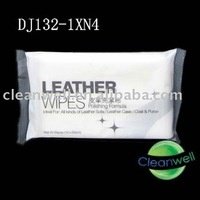 (DJ132-1)wet leather wipe
