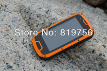 Professional outdoor waterproof GPS cellphone.SOS huge battery phone,Cruser S09 cheap nfc mobile phone