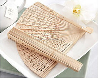 Personalized Gift Wedding Sandalwood Fan
