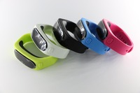 Smart Bluetooth Bracelet Step Counter Calories Burned Music Player Headset