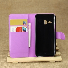 Excellent quality professional flip cover case for htc one m8 mini