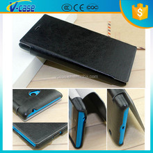 PU Leather flip wallet stand cover case cover for Nokia Lumia 730