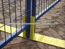 Yellow temporary fence panels/temporary fence