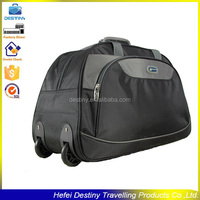 factory price fashionable design portable sport travel trolley bags