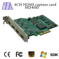 Support 4ch input at the same time 4 xbox 360 capture card hdmi