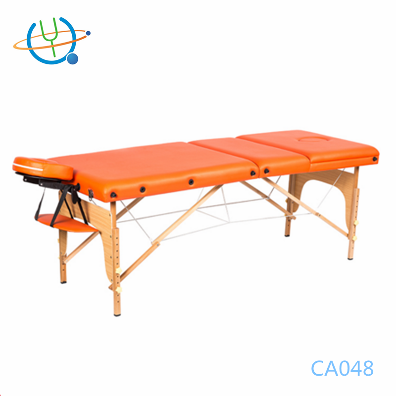 Beauty salon equipment portable table de massage nuga best massage bed for sale