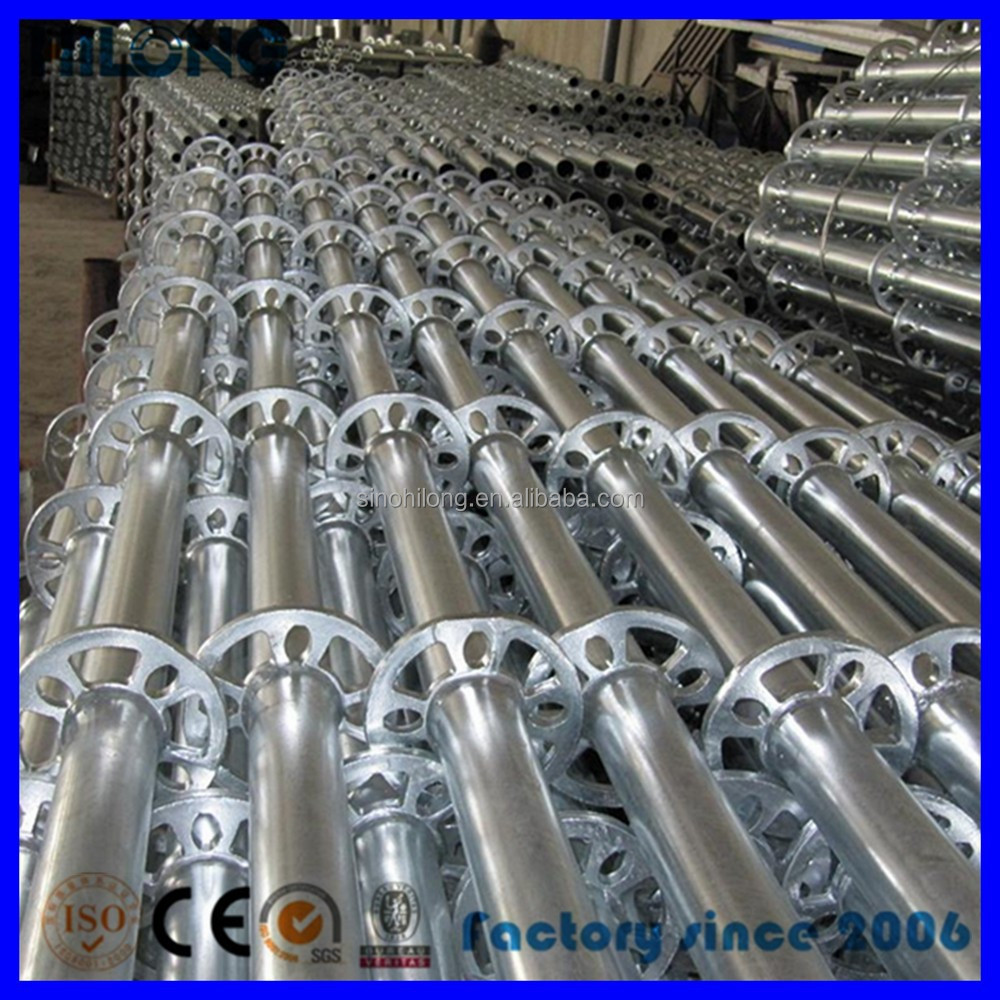 Scaffolding Steel Suppliers : Sgs approval q steel ringlock scaffold for construction