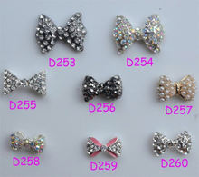 BIN Hot Selling 3d nail art jewelry nail charms