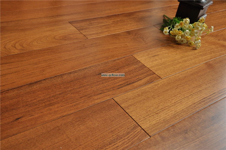 Germany technique Indoor usage Burma teak solid wood flooring