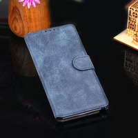 For SAMSUNG Galaxy S6/ S6 Edge Top Real Cow Leather Case Cover With Card Holder Belt Clip