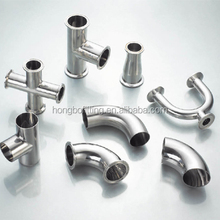 Sanitary stainless steel tri clamp fittings