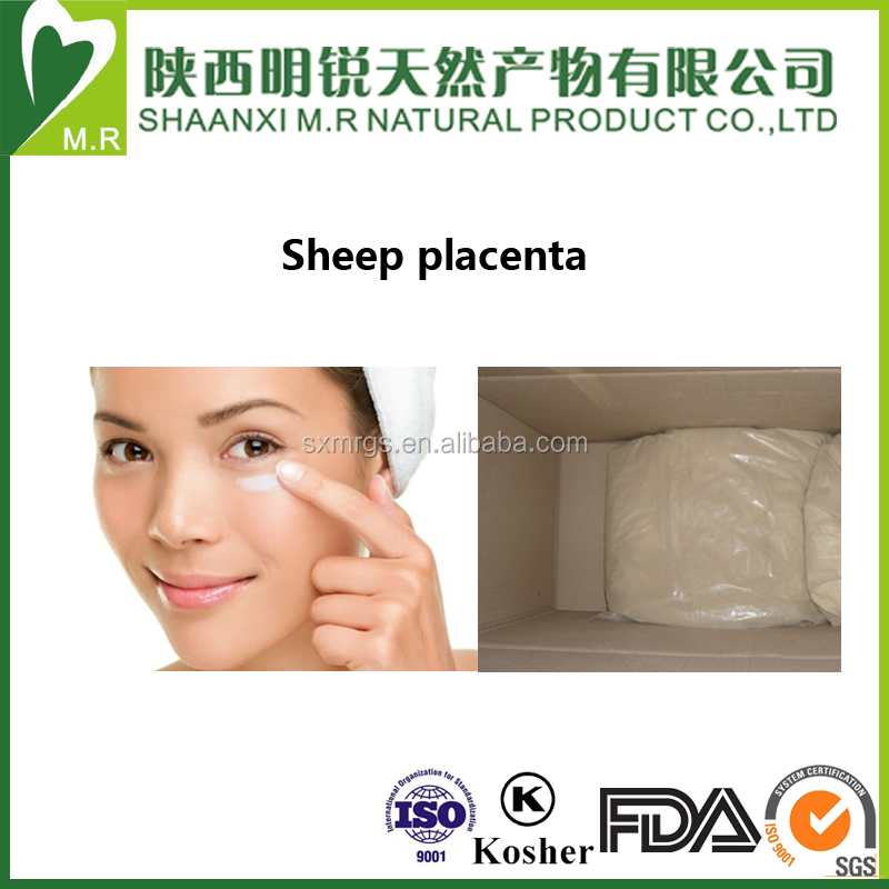 ISO9001 factory supply sheep placenta extract