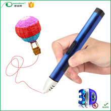 Online wholesale shop 3rd generation 3d magic writing drawing pen printer