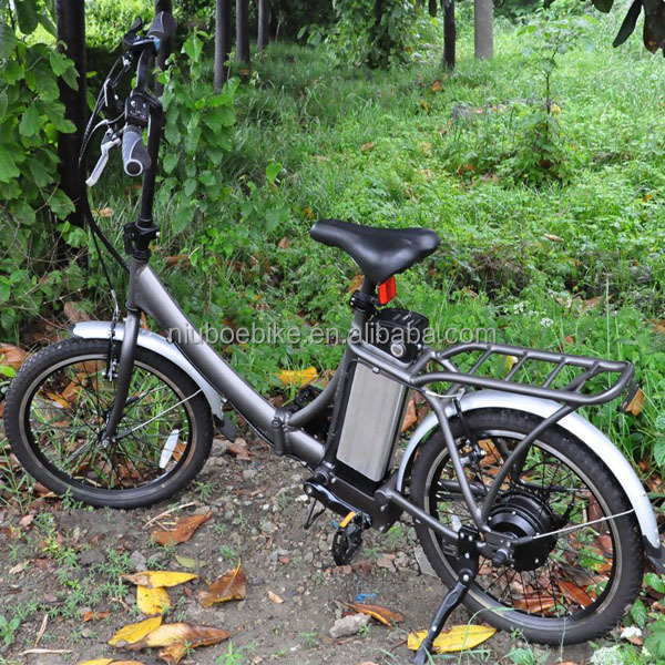 2 Year Warranty for Foldable Low Price Electric Bike with 250W Brushless Motor