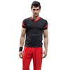 mens fitness bodybuilding t shirt compression wear