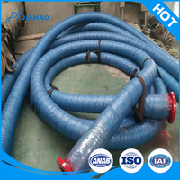 Used for drainage, oil absorption, mud and other fluid conveying big diameter rubber suction and discharge hose