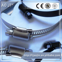 stainless steel fittings/automotive hose clamps