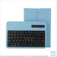 acc4s high quality scratchproof Universal 7 inch tablet PC bluetooth keyboard leather case (for android, IOS)