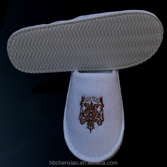 luxury terry towel disposable hotel slipper