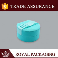 Velvet children jewellery box for jewelry wedding ring packaging