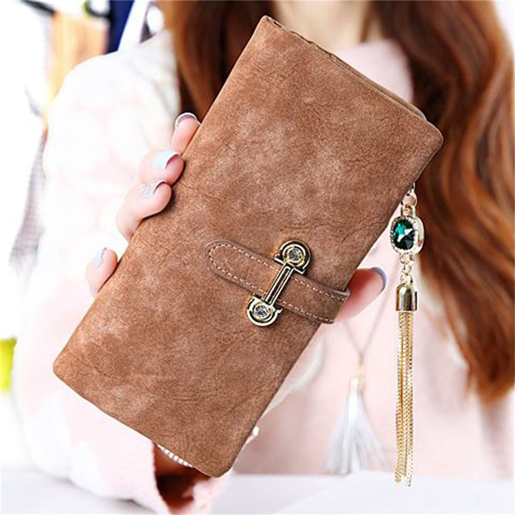 2017 Women Leather Wallet Lady Clutch Card Holder Purses