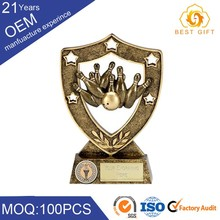 China professional custom made tennis and bowling trophy components