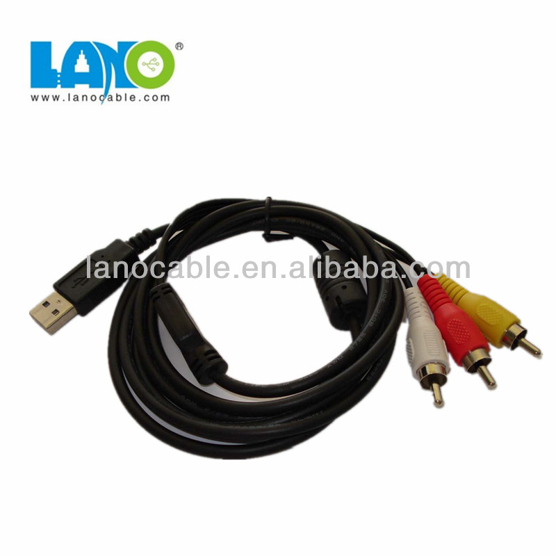 male to male rca to usb cable adapter