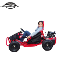 Daughter Enjoyed EPA Red 4 Stroke Pedal Gas Go-kart for Kids