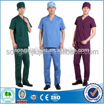 2015 New Style Cherokee Medical Scrubs, Medical Scrubs Men, Medical Uniforms With V Neck