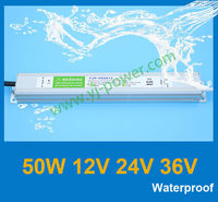 led flood lights driver 24v 50w led driver 24v waterproof YJP-V05024 RoHS,CE-EMC,CE-LVD,IP67